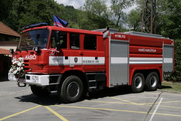 CAS 30 - T815 6x6.2 pro Karlštejn